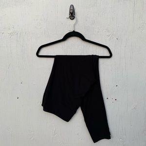 LuLaRoe Black Solid Tall & Curvy Leggings